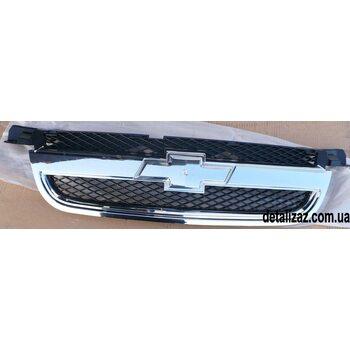 Решетка радиатора Хром Aвeo T250 Китай 96648529
