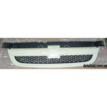 Решетка радиатора под покраску Aвeo 1,6 T250 Китай 96648621
