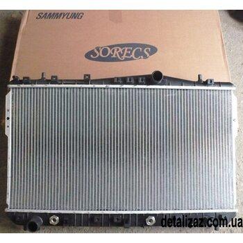 Радиатор охлаждения (на автомат КПП) Лачетти 1.8 SORECS 96553423, 96553244
