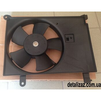 Вентилятор радиатора дополнительный Сенс, Ланос Корея 96182264