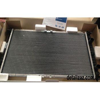 Радиатор охлаждения Сенс 1.3 Ланос 1.4 с кондиционером Luzar LRc 0461b