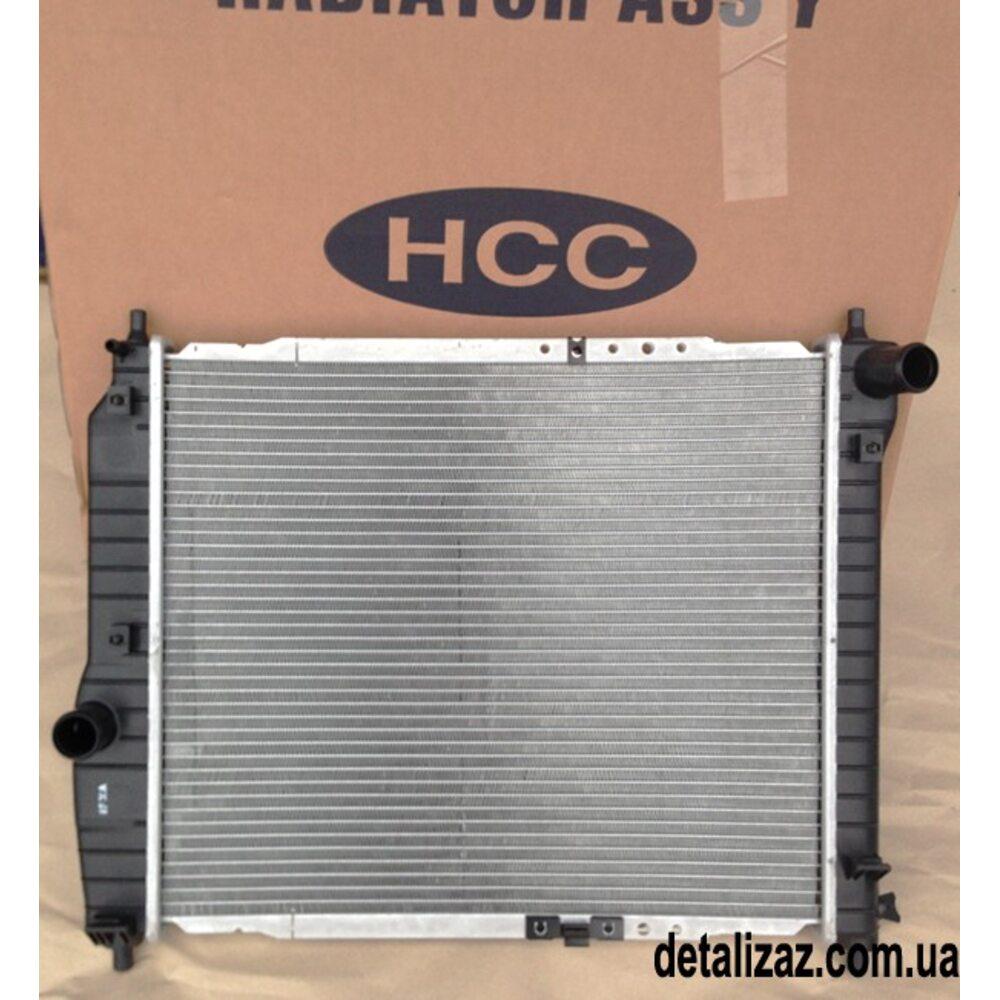 Радиатор охлаждения (480мм) Aвeo T200,250 HCC(HALLA) 96816481, 96443475
