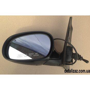 Зеркало наружное левое механика (малое) Сенс, Ланос GM 96304167, 96304107