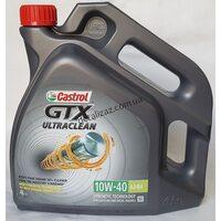 Масло моторное Castrol GTX Ultraclean 10W40 полусинтетика 4л
