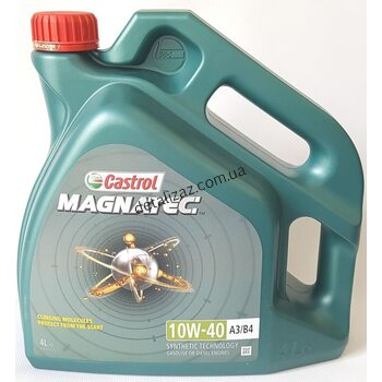 Масло моторное Castrol Magnatec полусинтетика 10W-40 4л