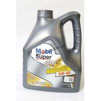 Масло моторное Mobil Super 3000 синтетика 5W-40 4л