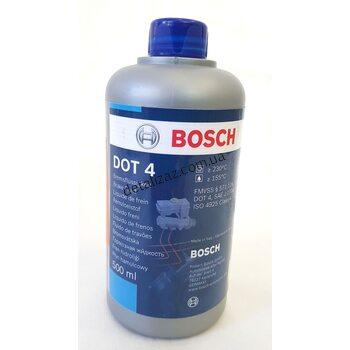 Жидкость тормозная DOT-4, 0,5л Bosch 1987479106