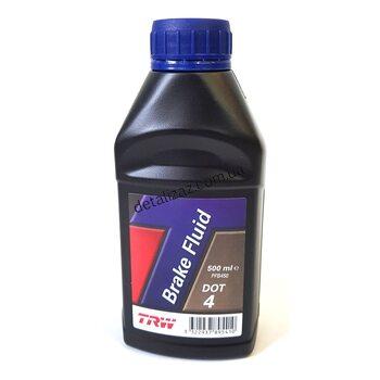 Жидкость тормозная DOT-4, 0,5л TRW PFB450