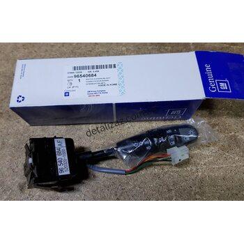 Переключатель указателя поворотов и противотуманных фар Aвeo. GM 96540684