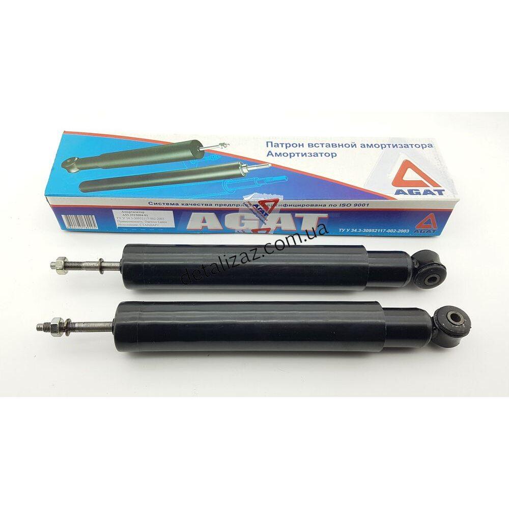 Амортизатор АГАТ задний 2 шт масло Ланос Сенс А53-2915004