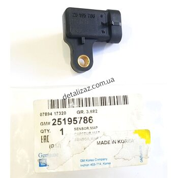Датчик абсолютного давления Лачетти 1.6 GM 25195786