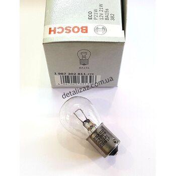 Лампа 1-контактная P21W Bosch 1987302811