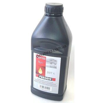 Жидкость тормозная DOT-4 1л Ferodo FBX100