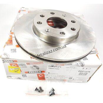 Диск тормозной передний (2 шт) Авео Т-200, Т250 Ferodo DDF1279