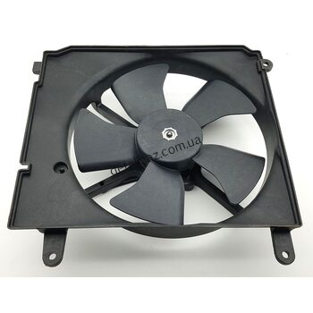 Вентилятор радиатора с кондиционером Ланос Корея 96183756