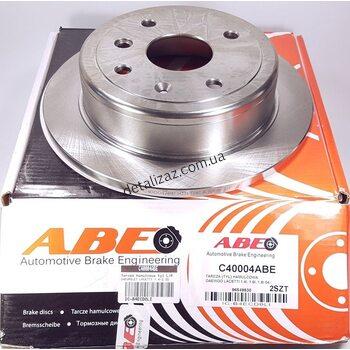 Диск тормозной задний (1 шт.) Лачетти ABE С40004