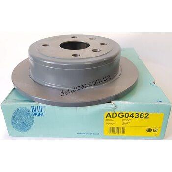 Диск тормозной задний (1 шт.) Лачетти Blue Print ADG04362