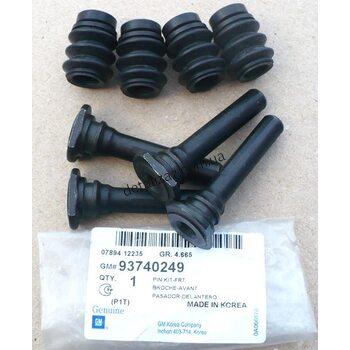 Пальцы направляющие суппорта (к-кт) Сенс, Ланос, Лачетти. GM 93740249