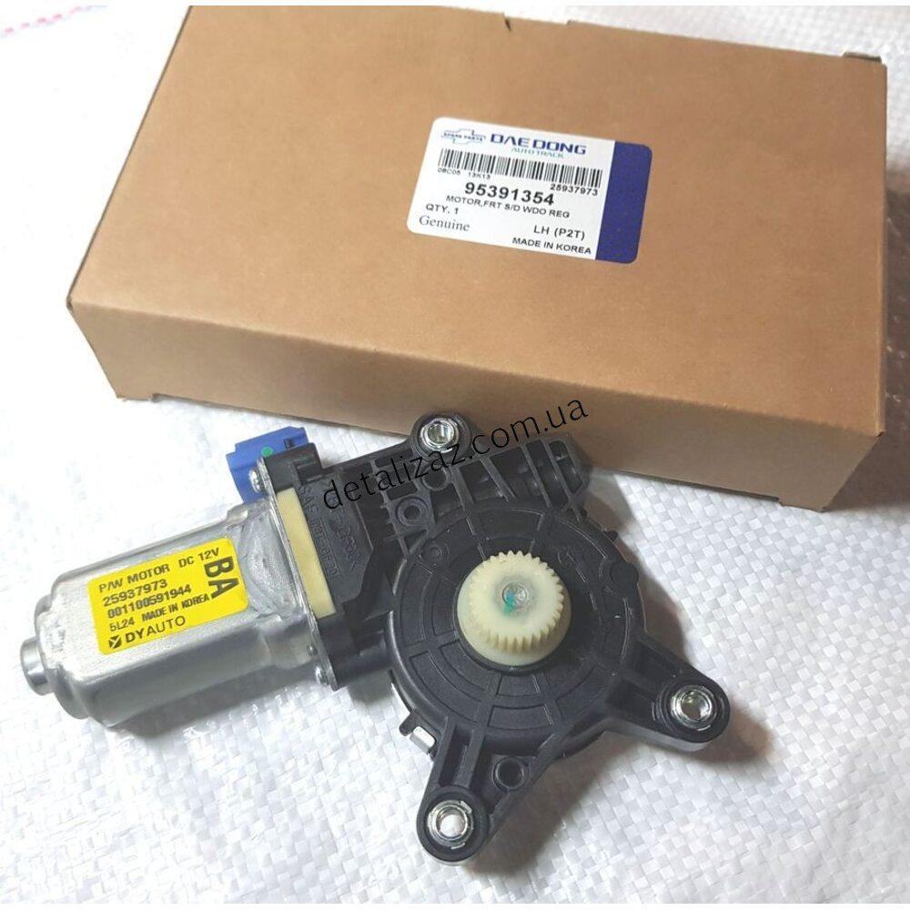 Мотор стеклоподъемника задний правый Aвeo. DAE DONG 95391354