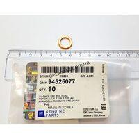 Шайба уплотнительная тормозн. шланга и сцепл. GM 94525077