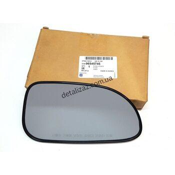 Стекло наружного зеркала правое механическое Лачетти GM 96545746