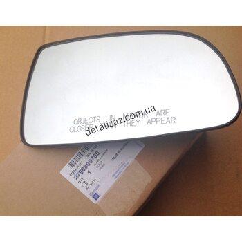 Стекло наружного зеркала правое с эл.подогревом Aвeo T250 GM 96800780