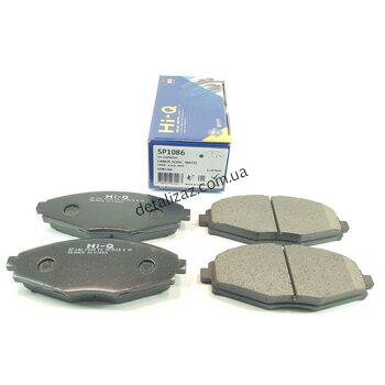 Колодки тормозные передние (к-кт) Ланос 1.5, Сенс. Hi-Q SP1086