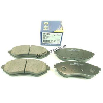 Колодки тормозные передние (к-кт) Aвeo. Hi-Q Sangsin Brake SP1158