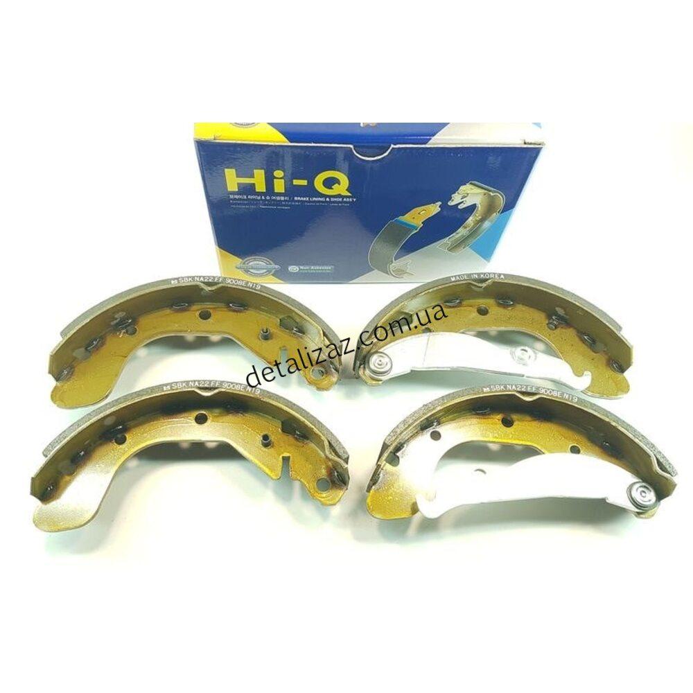 Колодки тормозные задние (к-кт) Ланос Сенс Hi-Q SA055