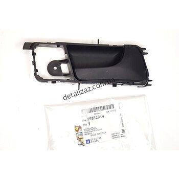 Ручка двери внутренняя правая черная Лачетти Седан GM 96852914