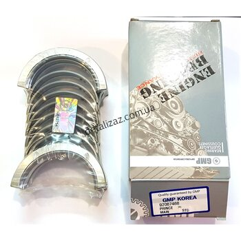 Вкладыши коренные STD Лачетти 1.8 GMP 92067468