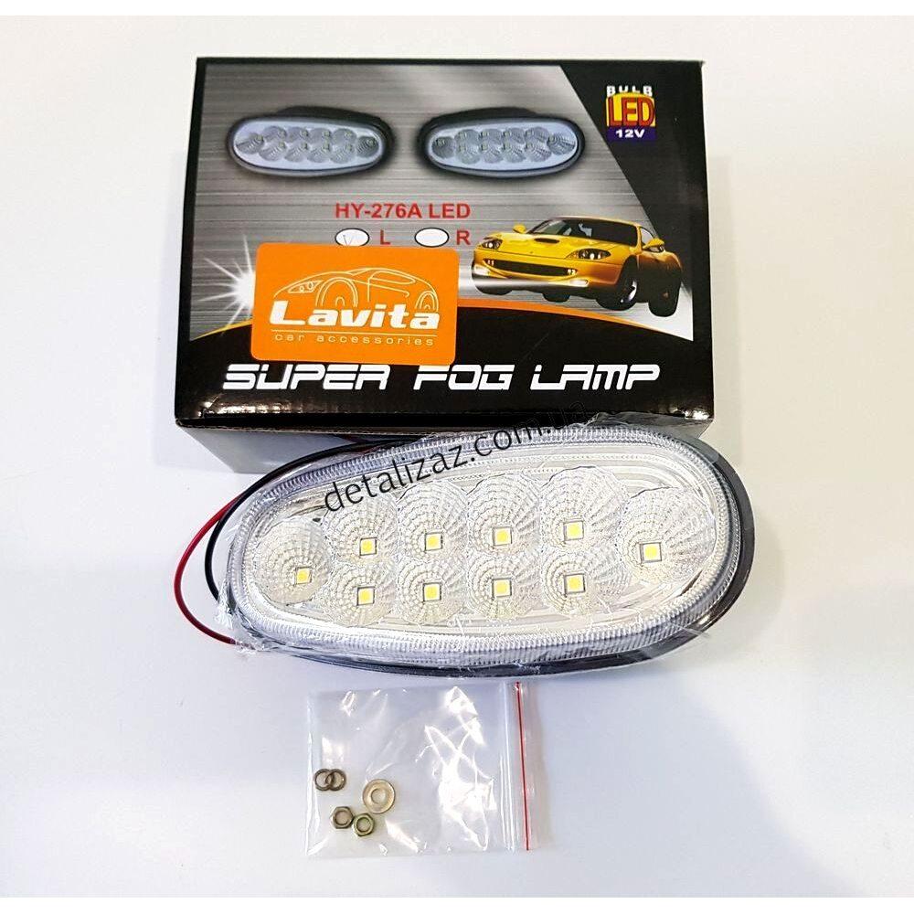 Фара дневного света левая LED Lavita HY-276A-L
