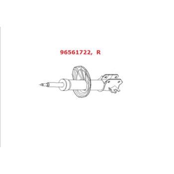 Амортизатор GM передний правый газо-масляный Лачетти (универсал) 96561722