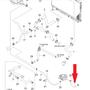 Патрубок от термостата к дроссельной заслонке Лачетти 1,8 LDA GM 96837843