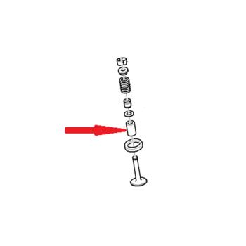 Втулка направляющая впускного клапана Лачетти 1,8 и 1,8 LDA. GM 90572642