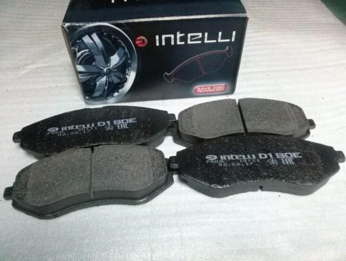 Тормозные колодки фирмы INTELLI